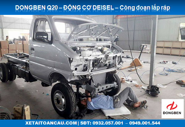Xe tải Dongben Q20 chassis