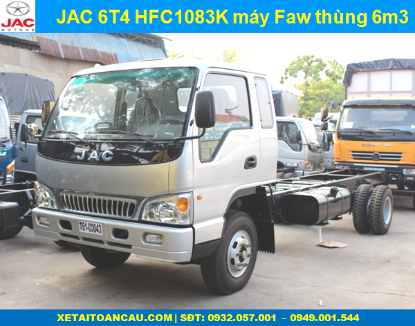 JAC 6 TẤN 4 CABIN CHASSIS