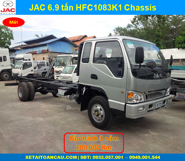 Jac 6.9 tấn chassis