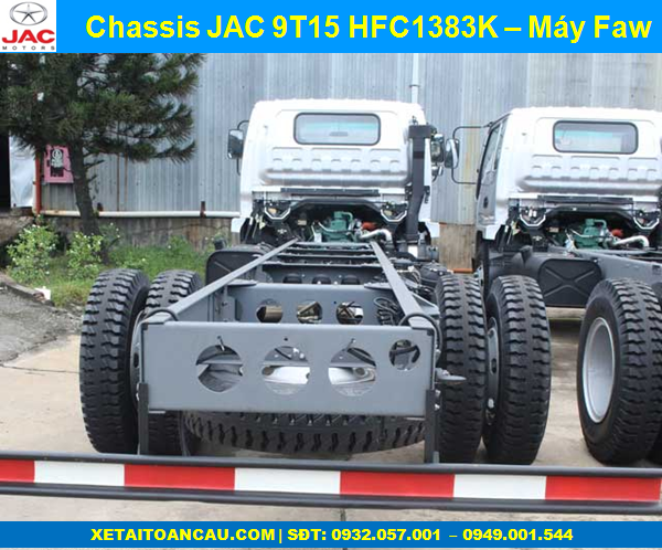 Chassis Jac 9.1 tấn