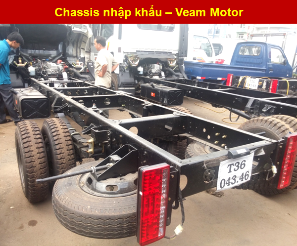 Chassis Veam VT200-1 cứng chắc